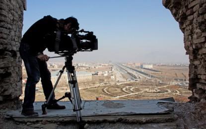 ئامادهكردنى فيلم و گرتهى ڤيديۆيى بۆ راپۆرتى تهلهفزيۆنى